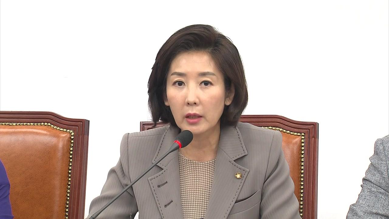 """나경원 """"원정출산·이중국적 아냐""""...與 공세 지속"""