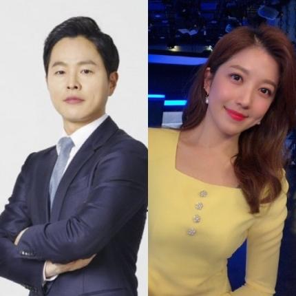 SBS 김현우 앵커♥이여진 기상캐스터 12월 결혼