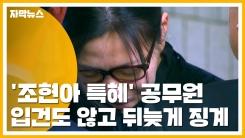 [자막뉴스] '조현아 특혜' 공무원 입건도 않고 뒤늦게 징계