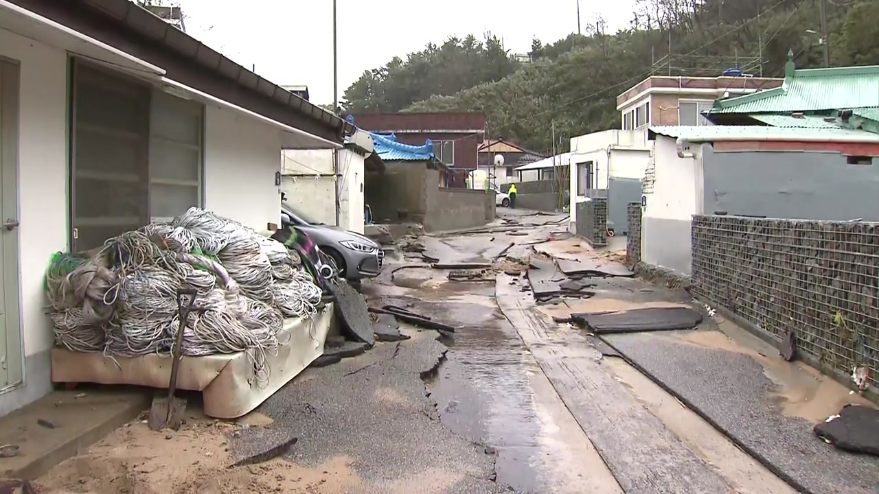[날씨] 올해 첫 내륙 관통 태풍...동풍 효과에 '물 폭탄'
