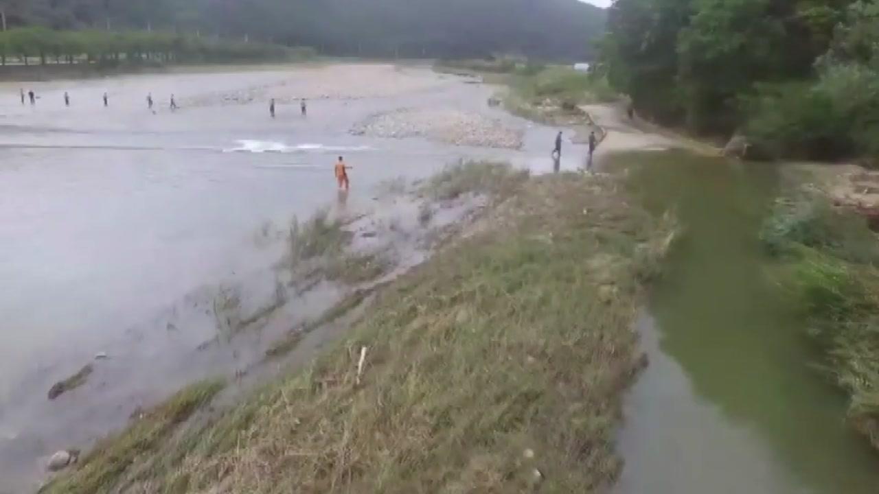 태풍 미탁에 실종된 3명...사흘째 수색 중