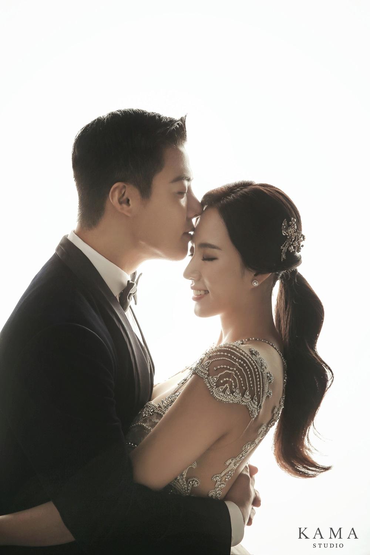 """강남♥이상화, 웨딩화보 공개...""""꿀 떨어지는 입맞춤"""""""
