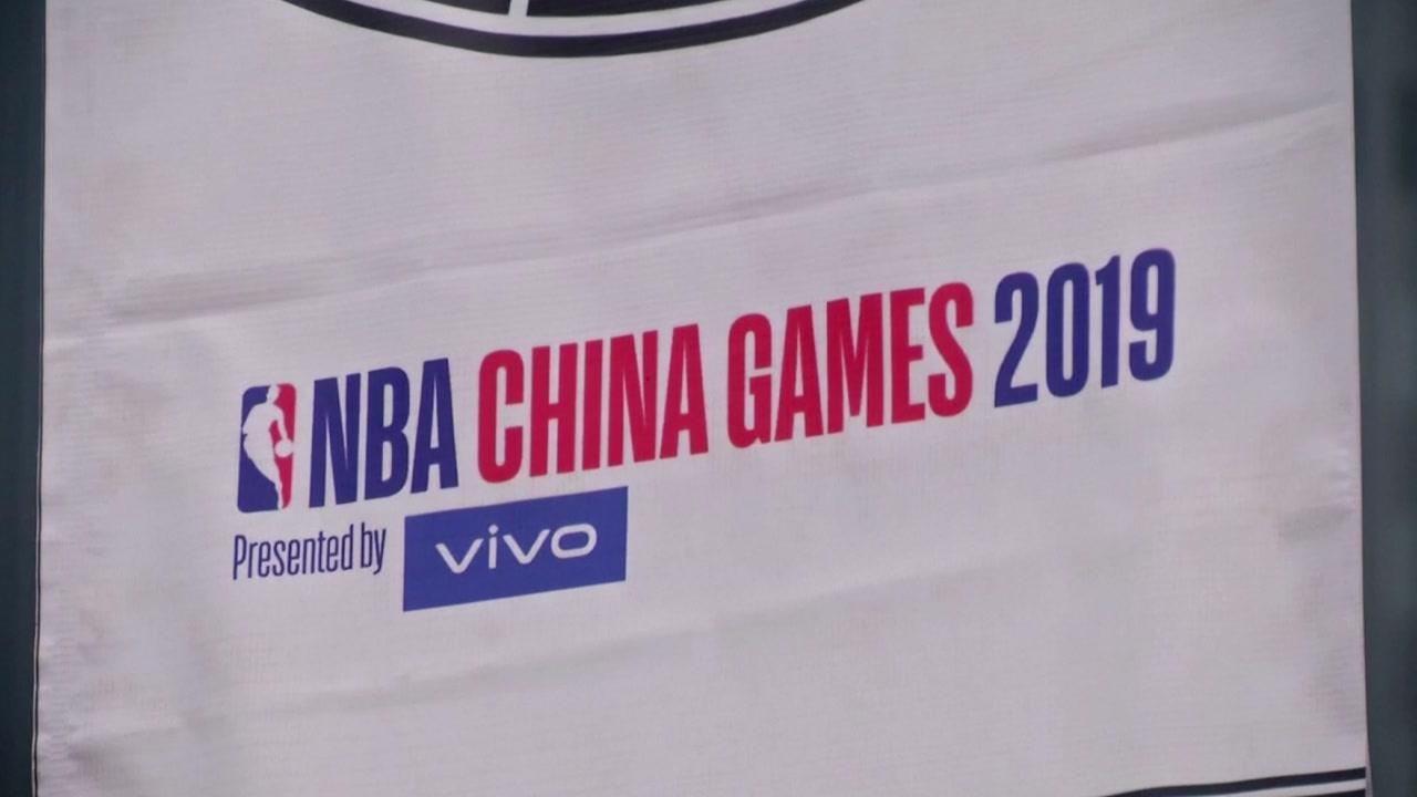 美·中에서 NBA '홍콩시위 지지' 논란 확산