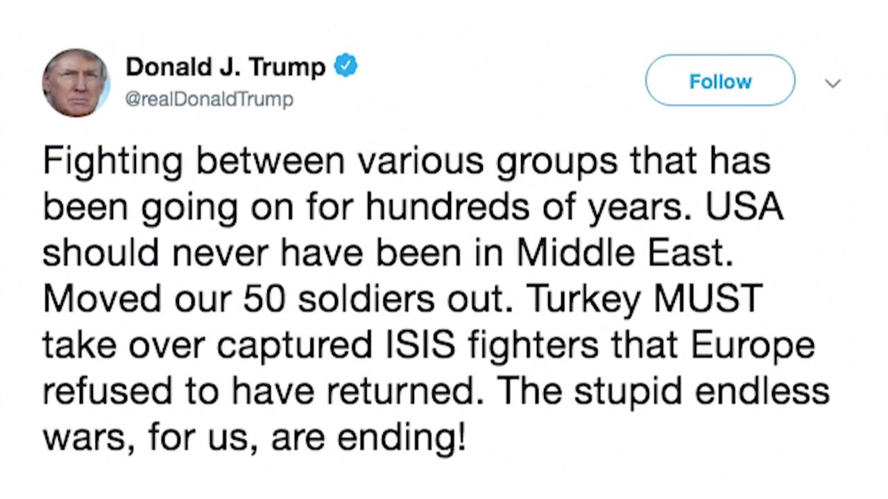 """트럼프 """"중동 진출은 최악의 결정""""...철군 정당성 거듭 주장"""