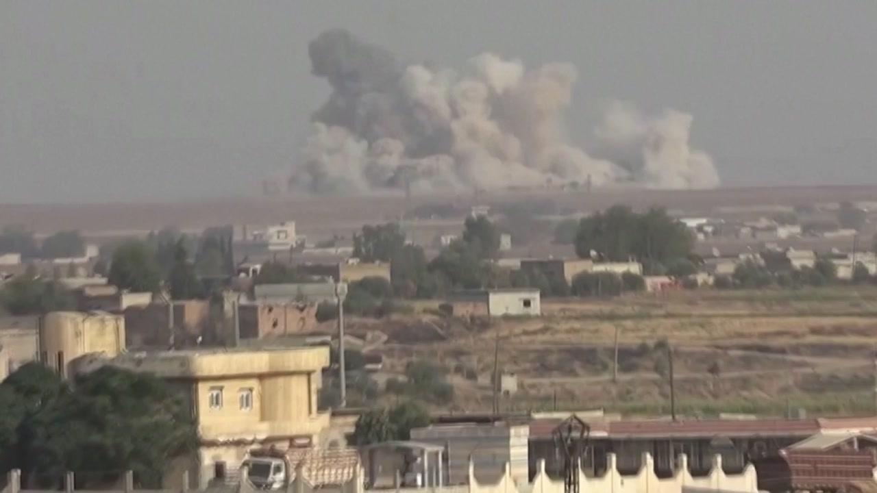 터키, 군사 작전 개시...'라스 알 아인' 공습