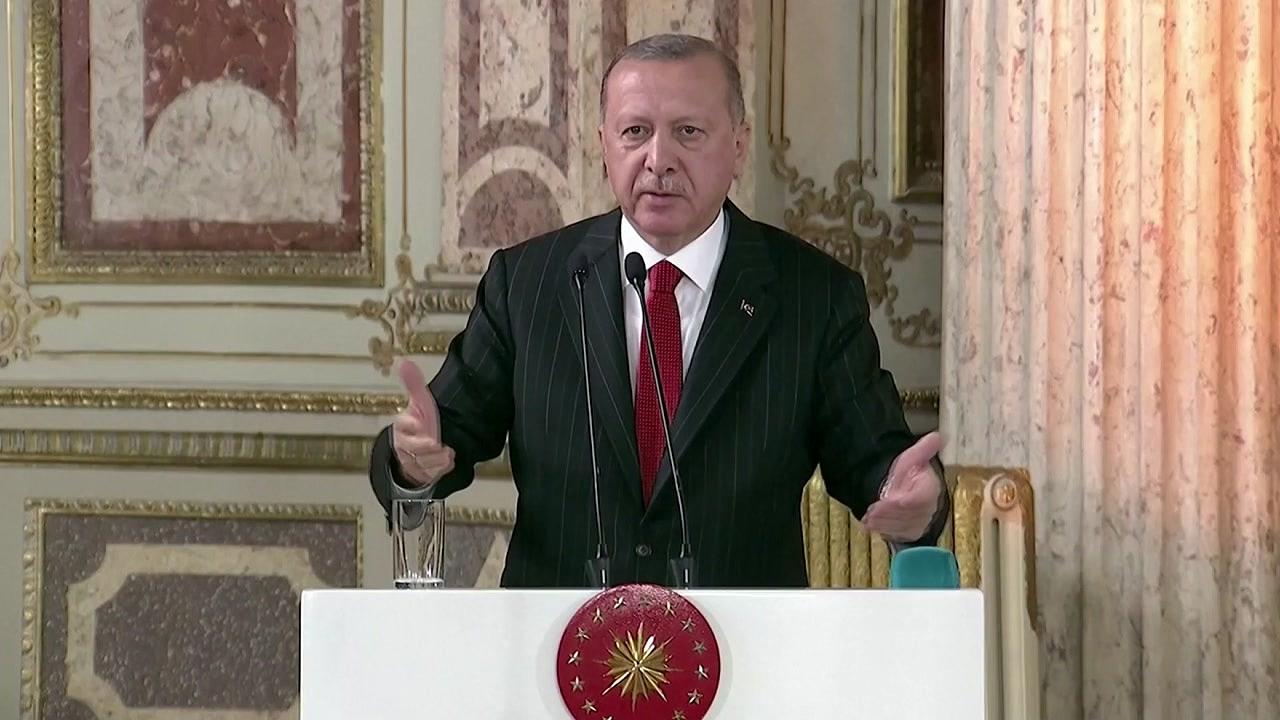 """터키 에르도안, 쿠르드 공격 """"절대 멈추지 않을 것"""""""