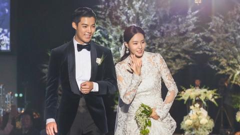 강남♥이상화, 김연아·황광희 등 동료 축하 속 백년가약