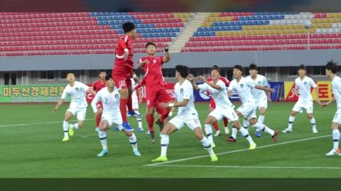 벤투호 평양 원정, '무관중 경기' 속에 0:0 무승부