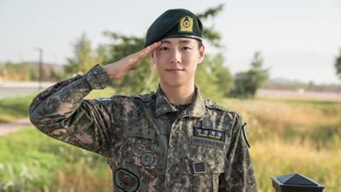 """이현우, 오늘(19일) 육군 만기 전역…""""많은 것 보고 배웠다"""""""