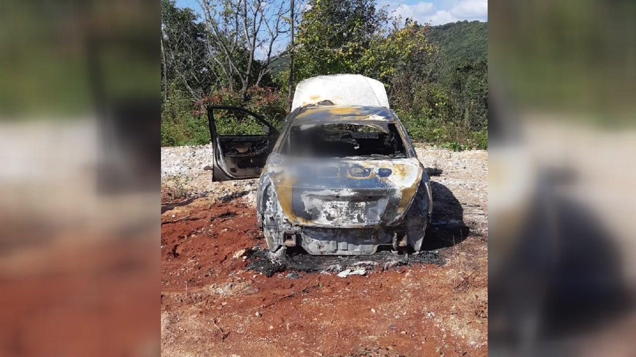 제천에서 승용차 화재...남성 시신 발견
