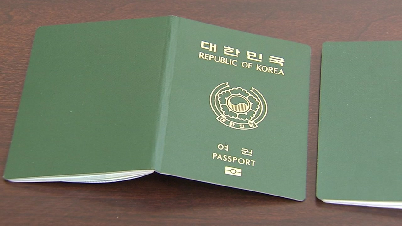 '일본산' 여권 표지...당장 바꿀 수 없는 이유