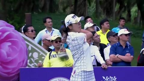 허미정, LPGA 타이완 대회 2R 단독 선두