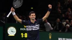 조코비치, ATP 투어 파리 마스터스 단식 우승
