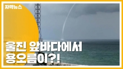[자막뉴스] 울진 앞바다 '용오름'...육지로 이동해 소멸