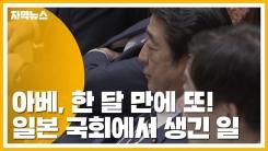 [자막뉴스] 아베, 한 달 만에 또!...일본 국회에서 생긴 일