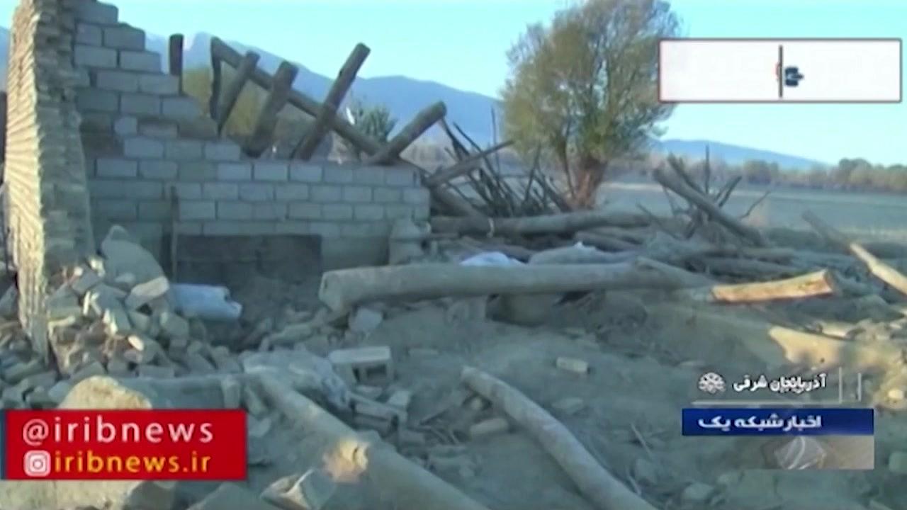 이란 북서부서 규모 5.9 지진...5명 사망·300여 명 부상