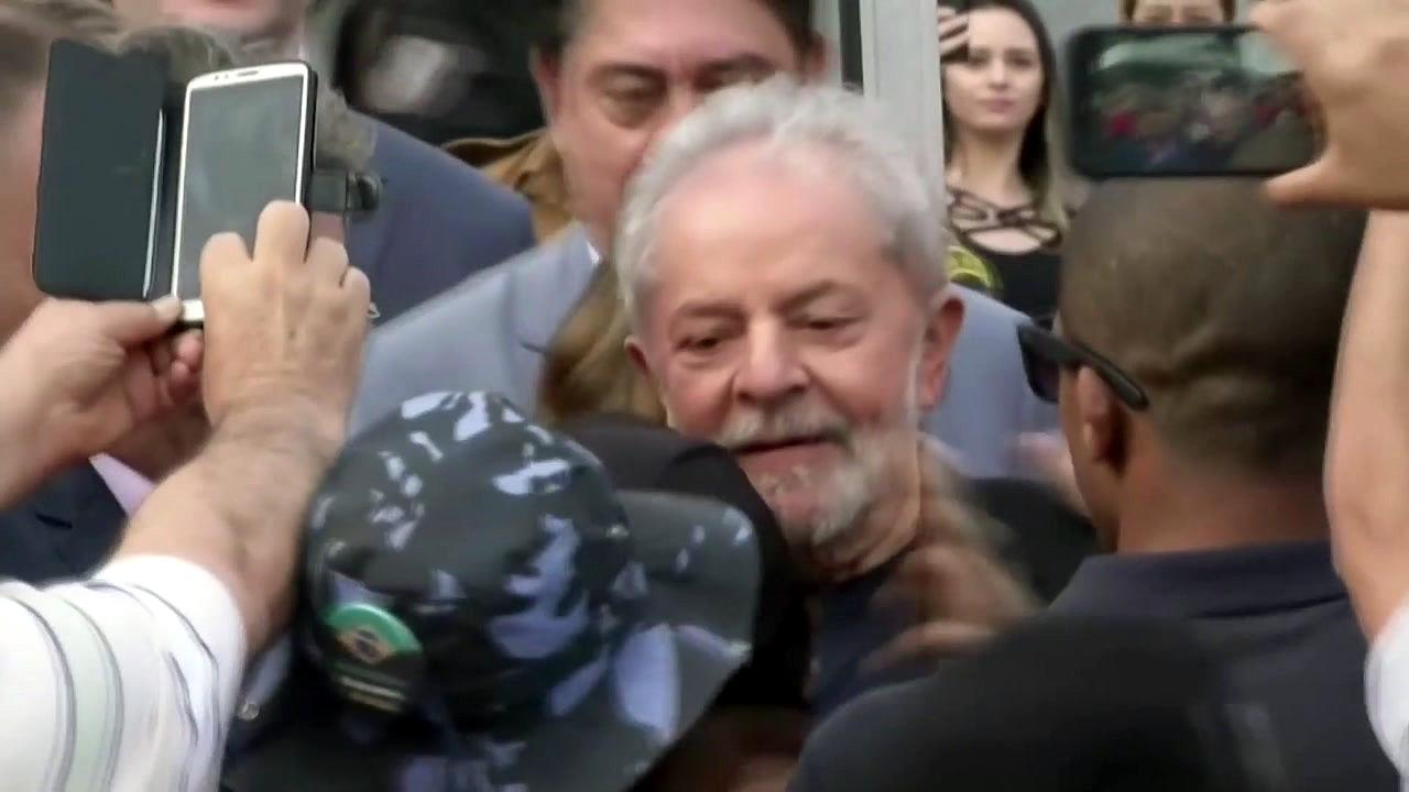 브라질 룰라 전 대통령 580일 만에 석방