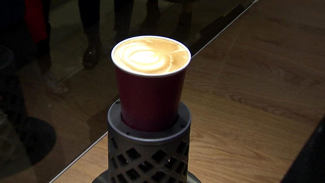 음파진동 더치 커피·라떼아트 로봇...아시아 최대 카페쇼