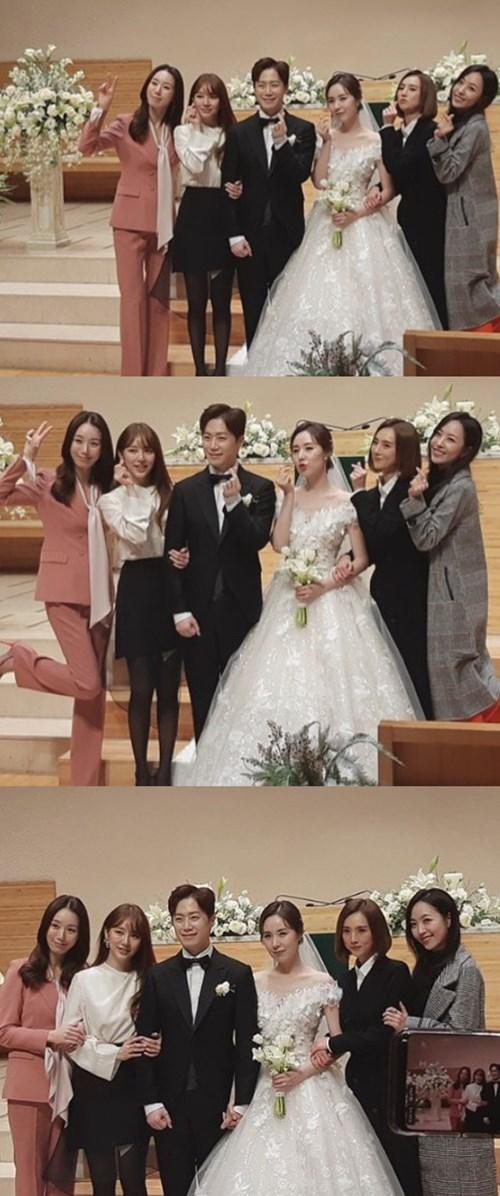 간미연♥황바울 결혼식서 뭉친 베이비복스...여전한 미모