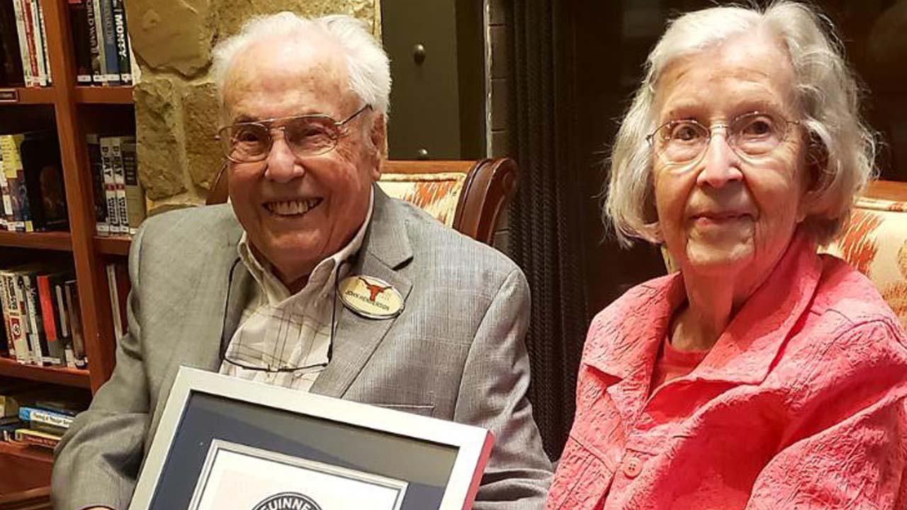106살·105살 美부부...'80년' 최장 결혼 생활로 기네스북