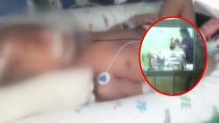 [취재N팩트] 두개골 골절된 신생아...CCTV 속 간호사 학대 정황