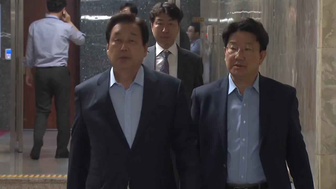 문자로 드러난 한국당 균열...친박·비박 갈등 표출에 통합 논의는 '삐걱'