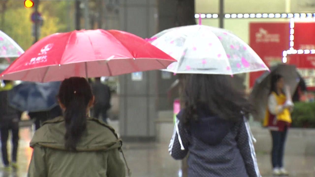 [날씨] 요란한 비에 첫눈까지...내일 수능 추위에 황사