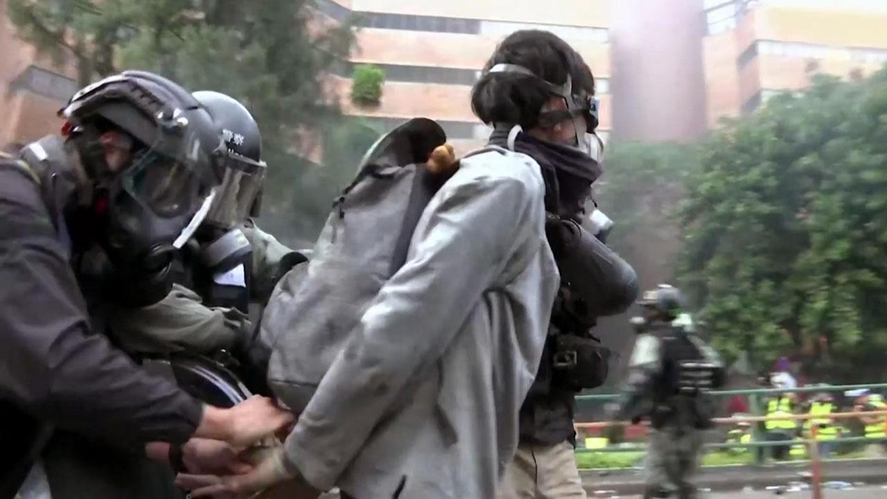 홍콩 시위대·경찰 격렬 충돌...지금 홍콩은?