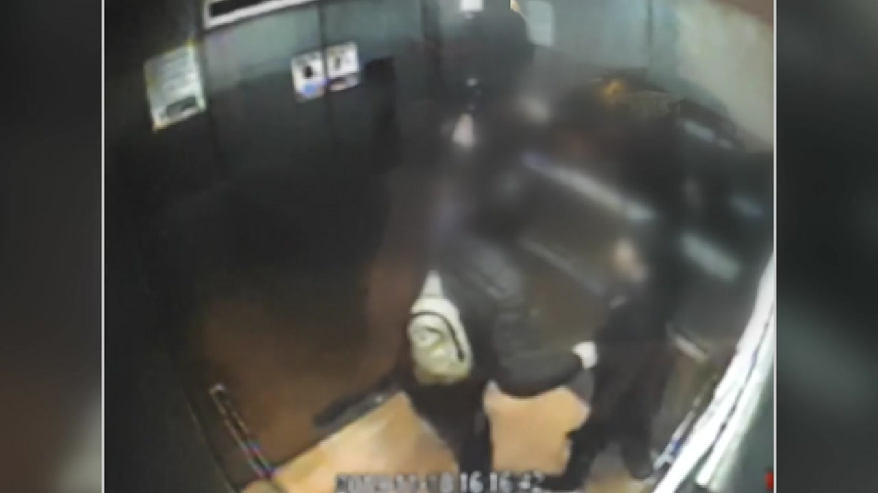 [영상] 아파트 엘리베이터 18층까지 급상승