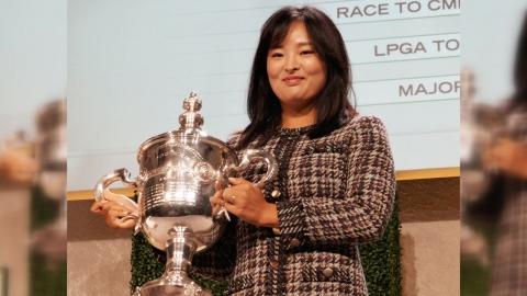 고진영, LPGA '올해의 선수상'·이정은 '신인상' 수상
