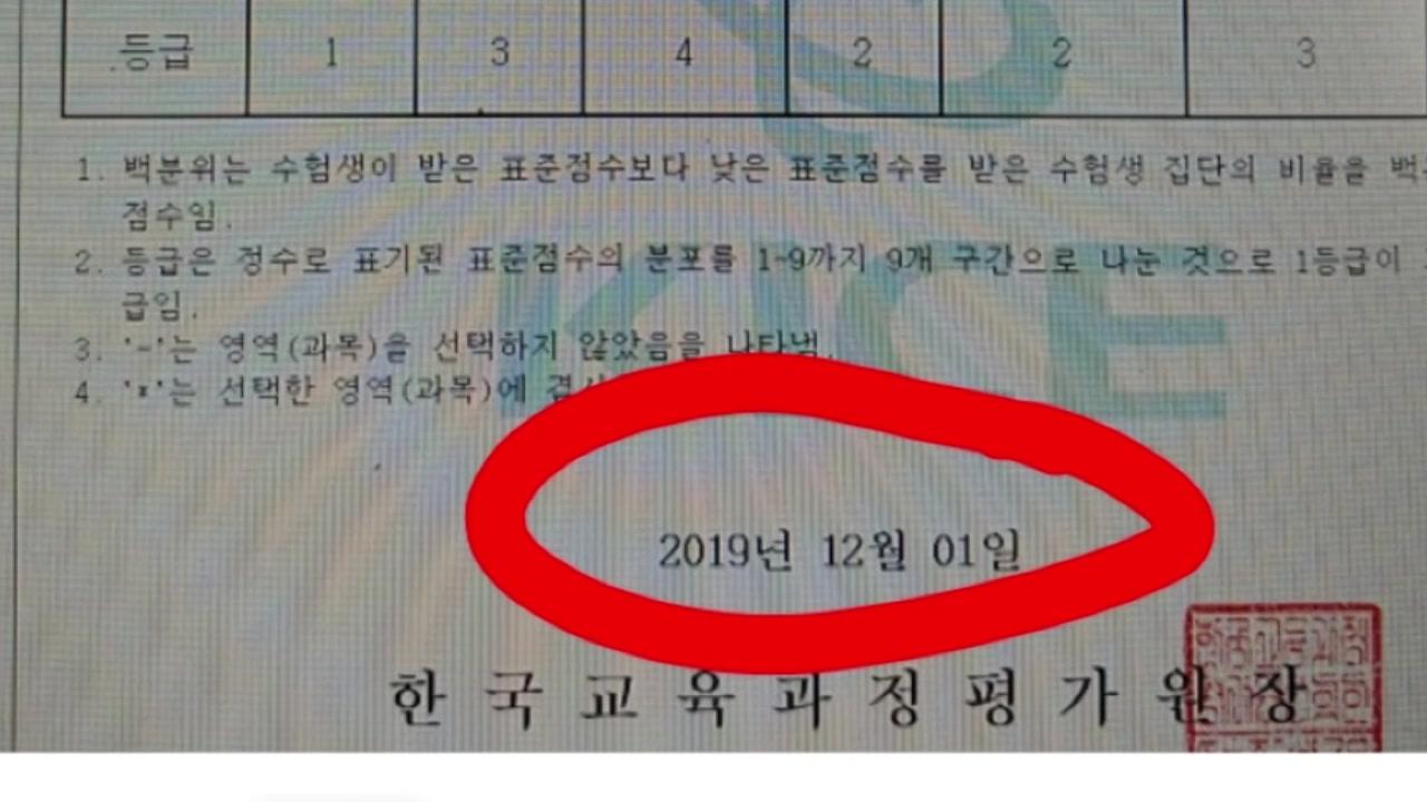 'N수생, 수능성적 발표 이틀 앞두고 사전 확인' 황당 사건의 전말