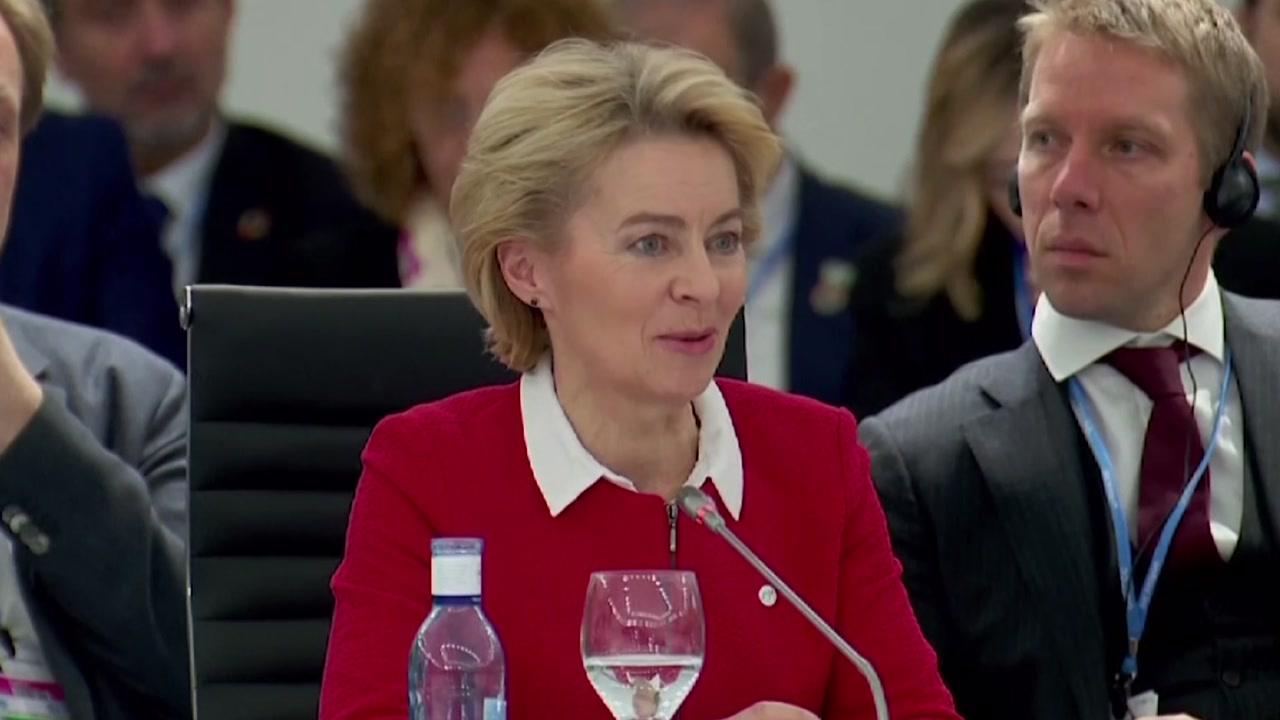 """신임 EU 집행위원장 """"2050년 유럽을 '탄소 중립' 대륙으로 만들겠다"""""""