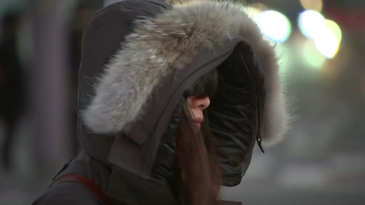 [날씨] 가장 추운 출근길, 서울 -5℃...곳곳 눈