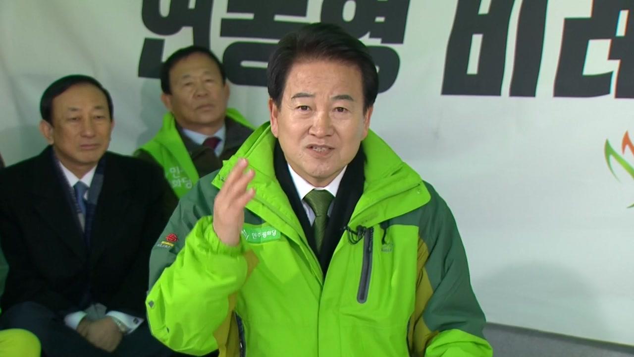 """정동영 """"선거제는 약자의 밥그릇 문제...250:50 못 받아"""""""