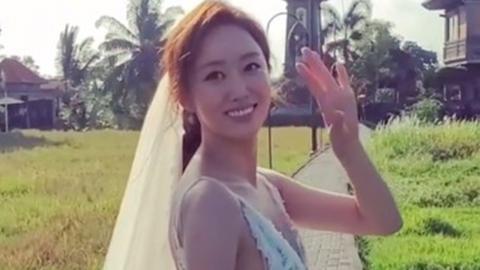 """'발리서 결혼' 전혜빈 """"함께 할 때 행복과 안정감 느껴"""" 소감"""