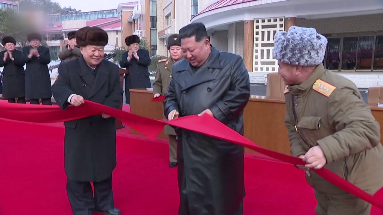 北 역점사업 양덕 온천 준공...김정은 참석
