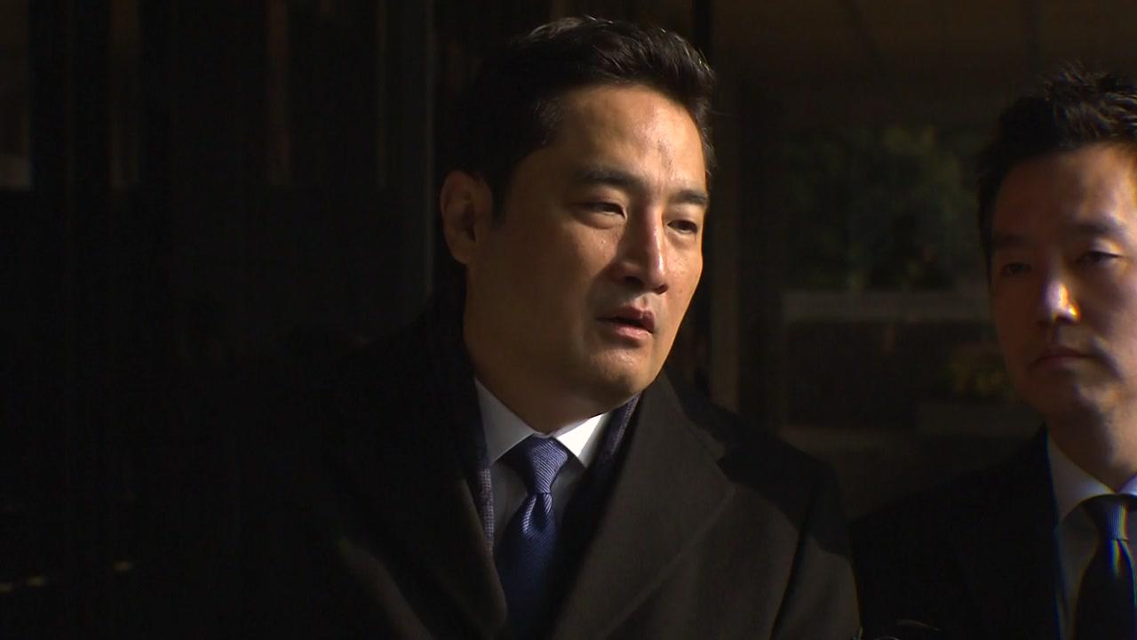 강용석, '김건모 성폭행 의혹' 고소장 제출