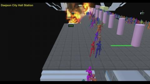 지하철 화재, AI가 안전 대피 돕는다