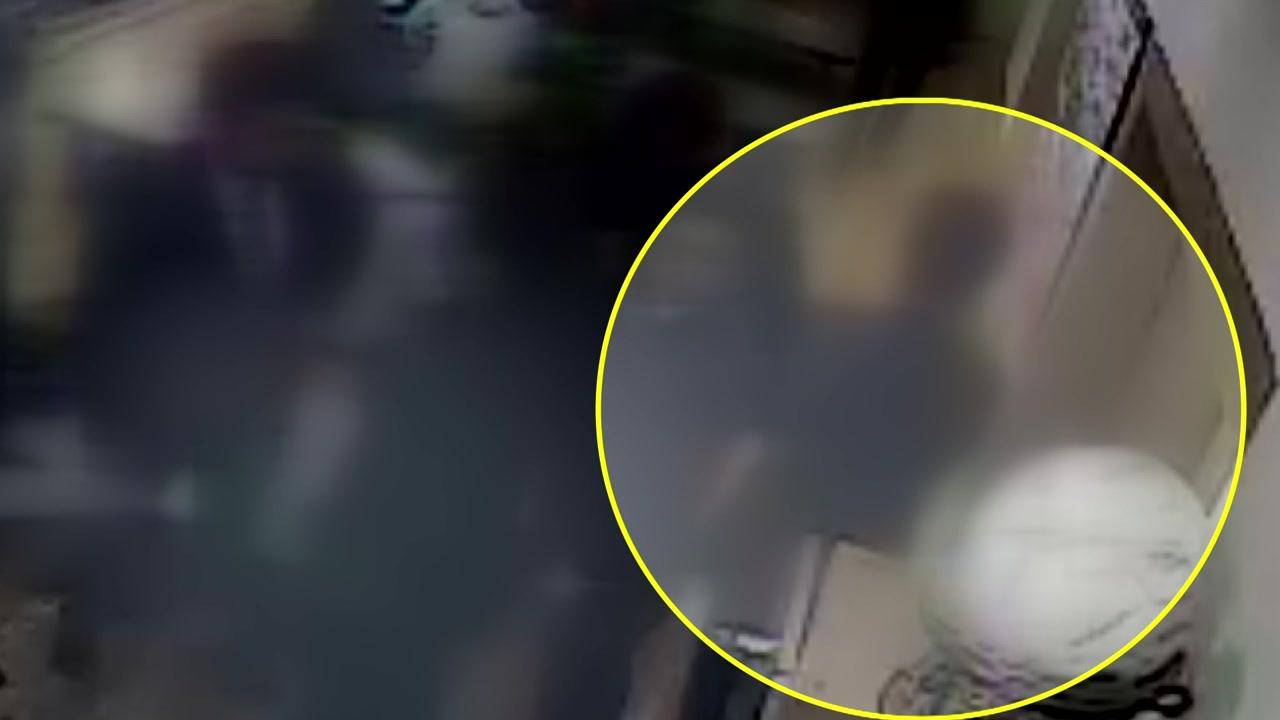 """1.3초 CCTV '곰탕집 성추행' 유죄 확정...""""피해자 진술 신빙성"""""""