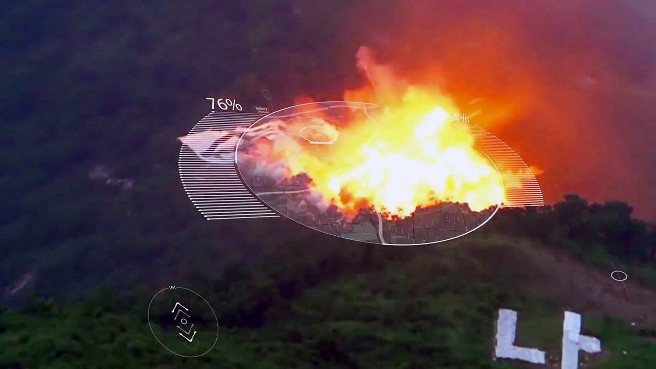 공군, ICBM 가상 타격 영상 공개...北 도발 경고?
