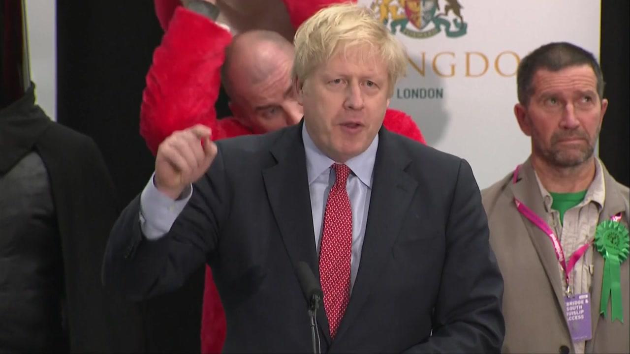 英총선 여당 보수당 압승...내년 1월 EU탈퇴 전망