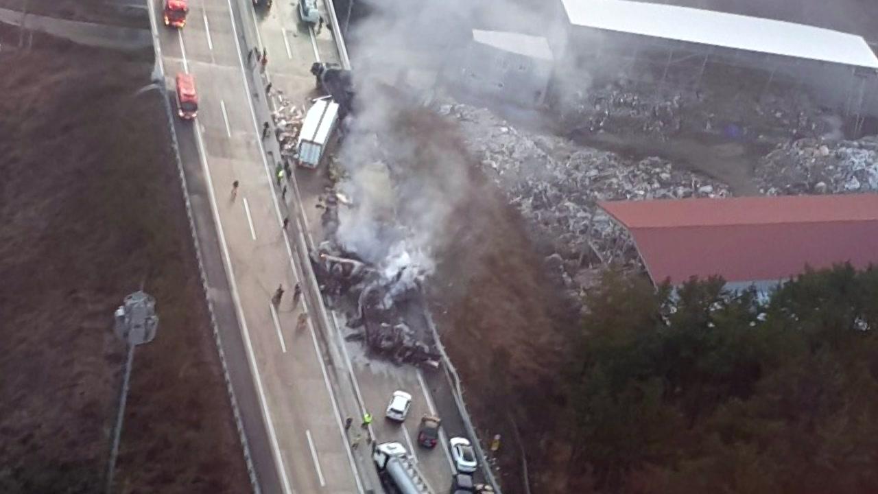 '블랙아이스' 30중 추돌 5명 사망·25명 부상