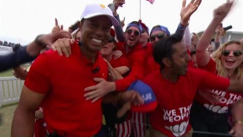 미국, 프레지던츠컵 8회 연속 우승…임성재 3승 1무 1패 선전