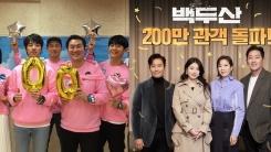 '시동' 100만·'백두산' 200만...韓 영화 쌍끌이 흥행