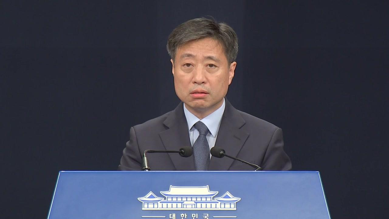 """靑 """"정무적 판단 검찰 허락받지 않아...조국 영장 정당성, 법원이 판단"""""""