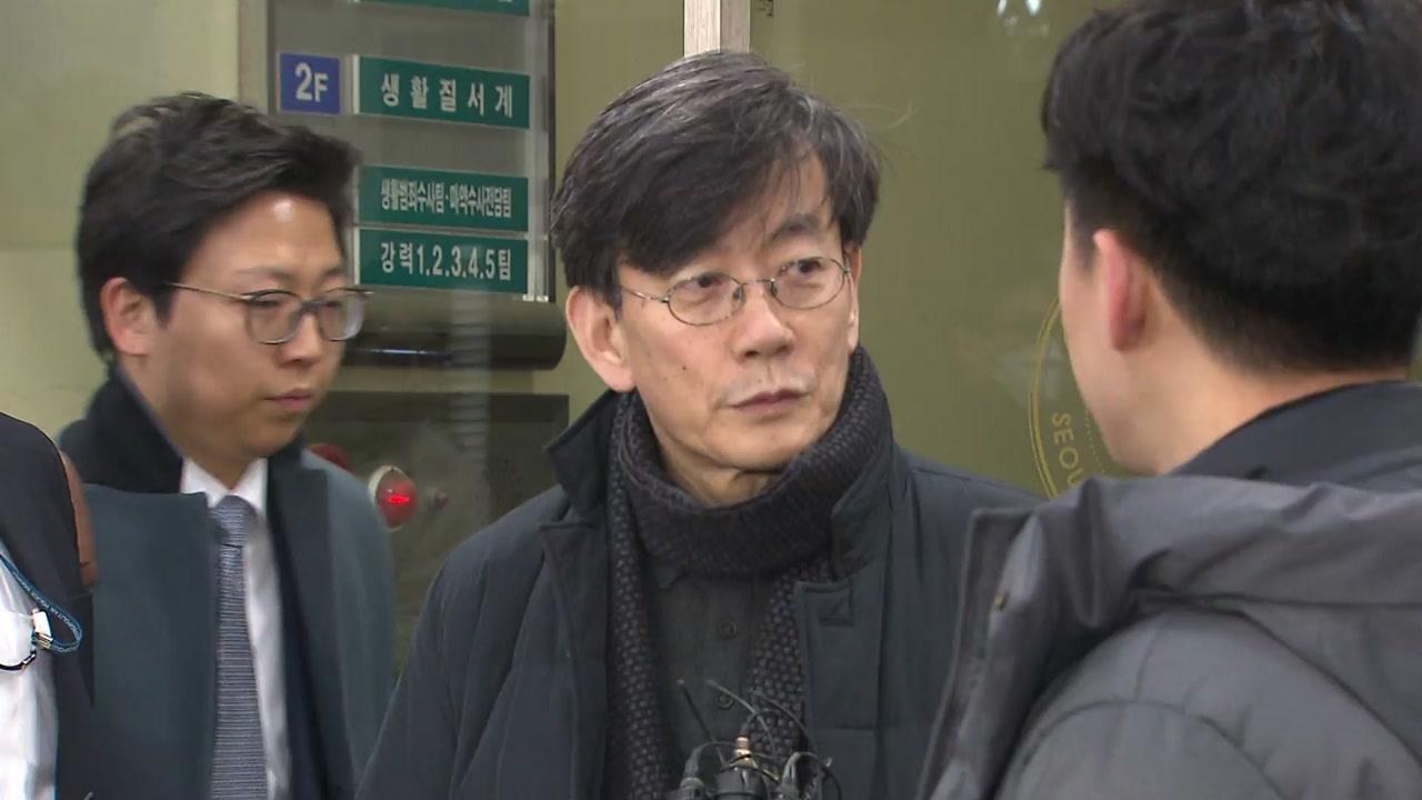 '폭행 혐의' 손석희 약식 기소...'공갈미수 혐의' 기자 불구속 기소