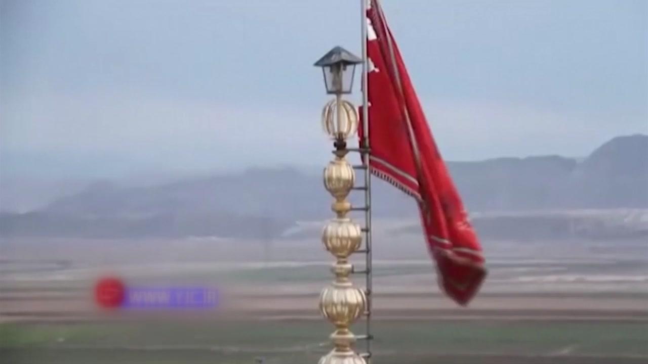 '피의 복수' 붉은 깃발 내건 이란...각국 긴장완화 행보