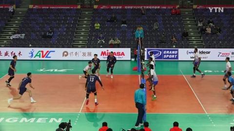 남자배구 인도 꺾고 조 2위...올림픽 '불씨'