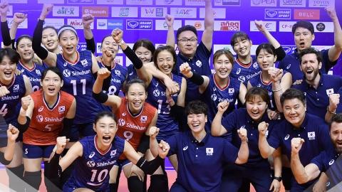 '토털 배구' 위력...여자 배구 3연속 올림픽 본선행