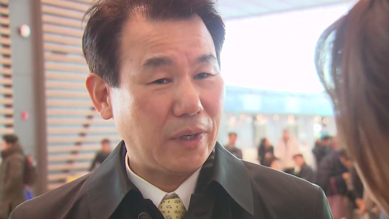 """정은보 출국...""""방위비 조속히 타결...주한미군 韓 노동자 고려"""""""